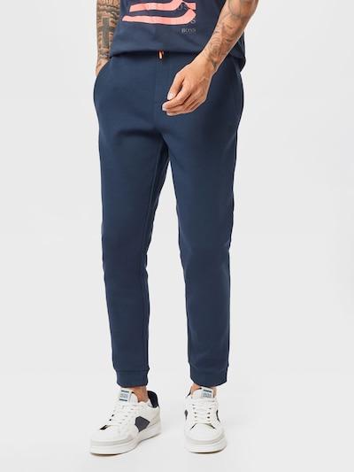 Pantaloni 'Hadiko 1' BOSS ATHLEISURE pe navy, Vizualizare model