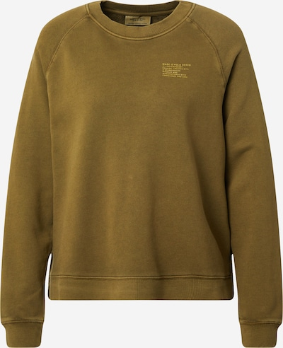 Marc O'Polo DENIM Sweatshirt in hellgelb / oliv, Produktansicht