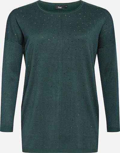 Zizzi Pull-over 'Olympia' en vert, Vue avec produit