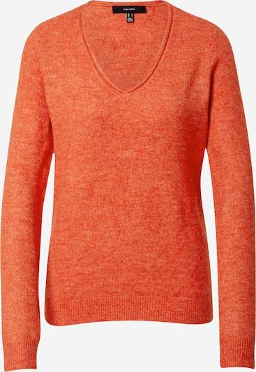 Pullover 'Simone' VERO MODA di colore beige / rosso arancione: Vista frontale