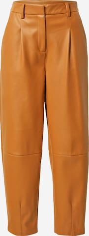 Pantaloni con pieghe 'Delfine' di Another Label in marrone
