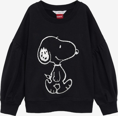 MANGO KIDS Sweatshirt in schwarz / weiß, Produktansicht