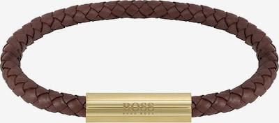 BOSS Casual Armband in de kleur Bruin / Goud, Productweergave