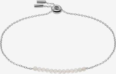 FOSSIL Náramek - stříbrná / bílá, Produkt