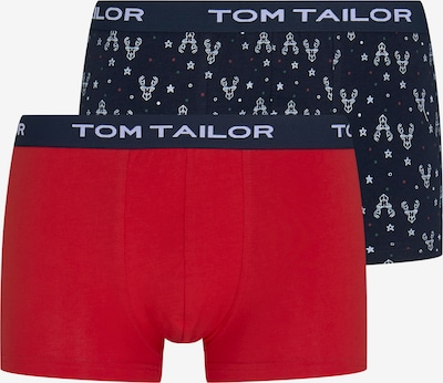 TOM TAILOR Boxershorts in blau / rot, Produktansicht