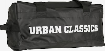 Urban Classics Reisetasche in schwarz / weiß, Produktansicht