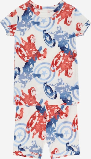GAP Pijama en azul / rojo / offwhite, Vista del producto