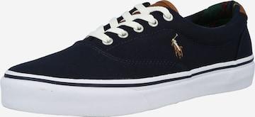 Polo Ralph Lauren Sneakers 'KEATON PONY' in Blue