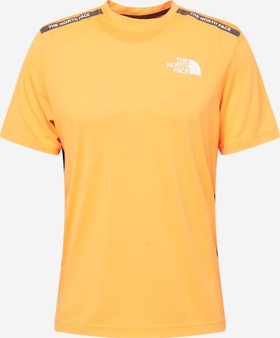 THE NORTH FACE Camiseta funcional en naranja / negro / blanco, Vista del producto