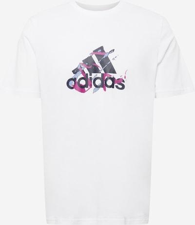 ADIDAS PERFORMANCE Sportshirt in rauchblau / eosin / schwarz / weiß, Produktansicht