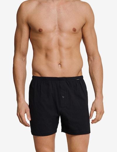 SCHIESSER Boxershorts in schwarz, Modelansicht