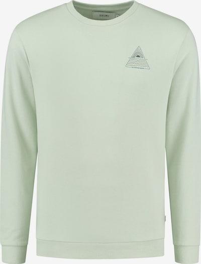 Shiwi Sweatshirt in blau / mint / schwarz, Produktansicht