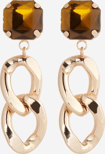 Essentiel Antwerp Boucles d'oreilles 'Zrudy' en ocre / or, Vue avec produit