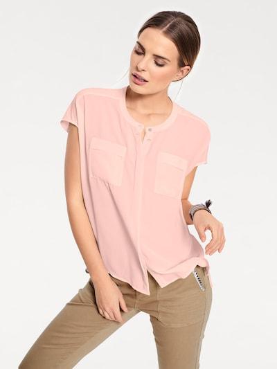 Linea Tesini by heine Blouse in de kleur Rosé, Modelweergave