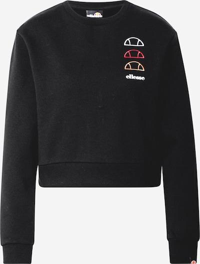 ELLESSE Sweat-shirt 'Glenato' en mélange de couleurs / noir, Vue avec produit