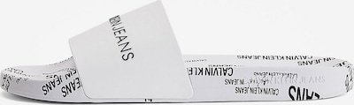 Calvin Klein Jeans Sandale in schwarz / weiß, Produktansicht
