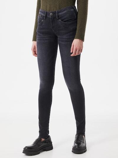 Herrlicher Jeans 'Piper' in de kleur Black denim, Modelweergave
