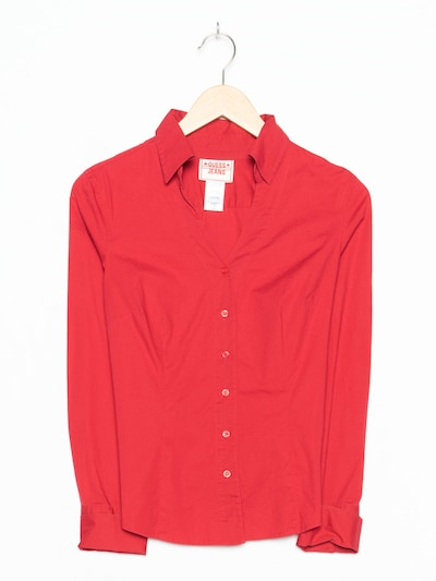 GUESS Bluse in S-M in neonrot, Produktansicht