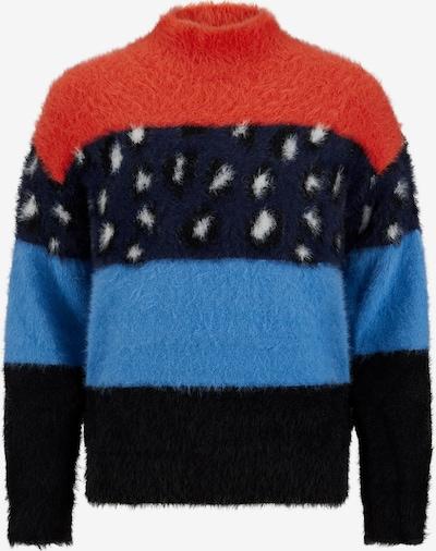 Retour Jeans Sveter 'Desi' - ultramarínová / svetlomodrá / tmavomodrá / červená / biela, Produkt