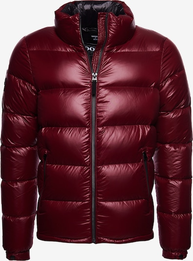 Superdry Winterjas in de kleur Donkerrood, Productweergave