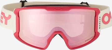 Lunettes de sport 'Line Miner' OAKLEY en rouge