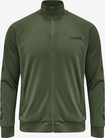Hummel Sportsweatvest ' Legacy' in de kleur Groen, Productweergave