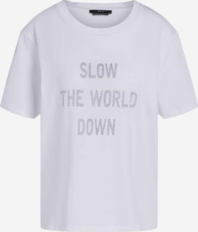 SET Shirt in grau / weiß, Produktansicht