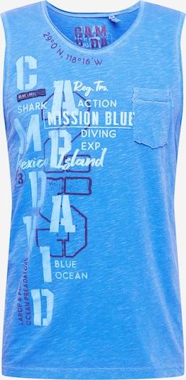 CAMP DAVID Tričko - námořnická modř / nebeská modř / světlemodrá / bílá, Produkt