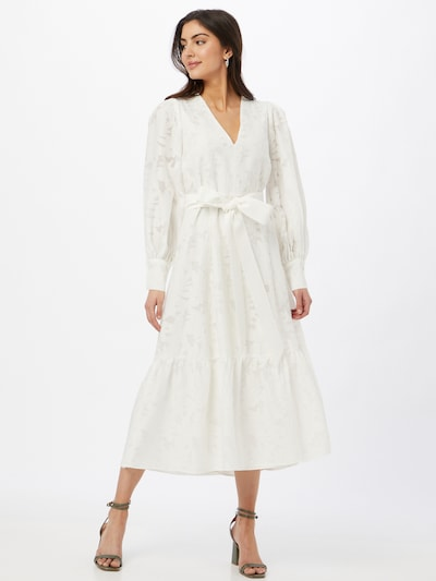 IVY & OAK Вечерна рокля в бяло: Изглед отпред