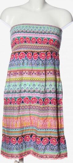 Accessorize schulterfreies Kleid in S in türkis / lila / pink, Produktansicht
