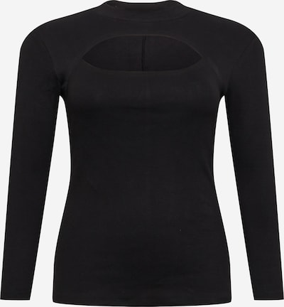 Marškinėliai 'SANDRO' iš Vero Moda Curve , spalva - juoda, Prekių apžvalga