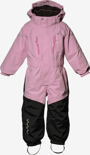 Isbjörn of Sweden Funktionsanzug 'PENGUIN' in pink / schwarz / weiß, Produktansicht