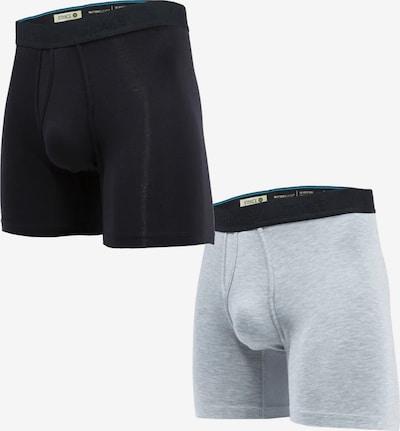 Stance Unterwäsche in schwarz / weiß, Produktansicht