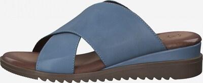 JANA Mule en bleu, Vue avec produit
