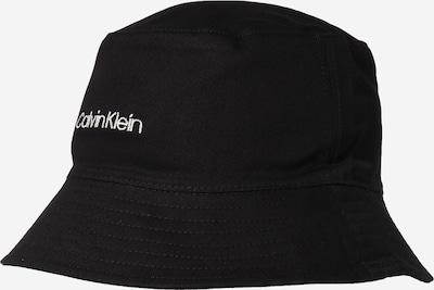 Calvin Klein Sombrero en negro / blanco, Vista del producto