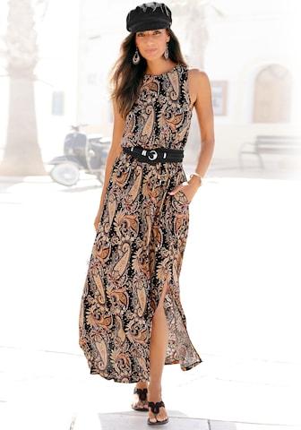 LASCANA Summer Dress in Mixed colors