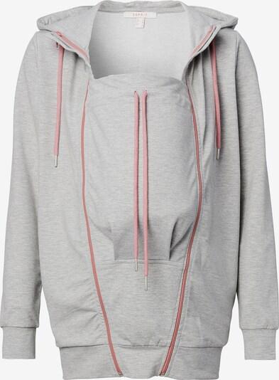 Esprit Maternity Sweat-shirt en gris / rose ancienne, Vue avec produit