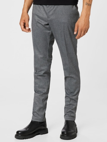 BOSS Casual Trousers 'Kaito' in Grey
