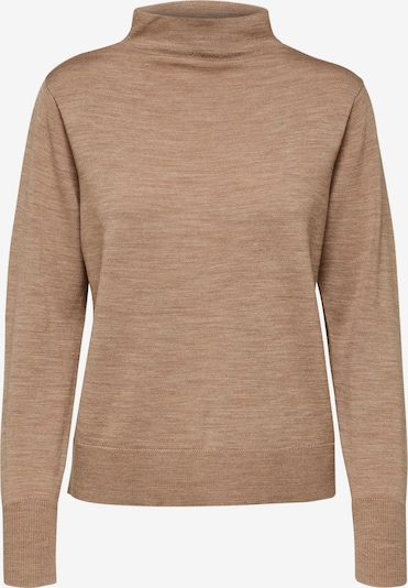 SELECTED FEMME Pullover 'Sandra' in beige / camel, Produktansicht