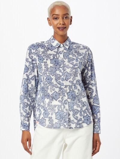 LIEBLINGSSTÜCK Bluse 'Ribanna' in blau / navy / weiß, Modelansicht