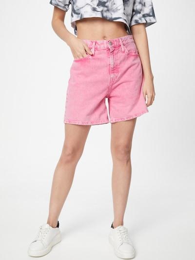 Calvin Klein Jeans Džínsy - ružová / čierna / biela, Model/-ka