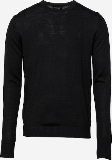 Bruun & Stengade Pullover 'Jupiter' in schwarz, Produktansicht