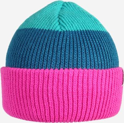 Coal Casquette de sport en bleu / turquoise / rose, Vue avec produit