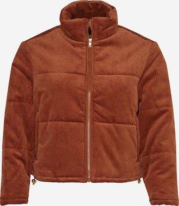 Urban Classics Between-Season Jacket in Brown