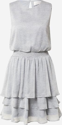 SISTERS POINT Kleid 'NICOLINE' in rauchblau / weiß, Produktansicht