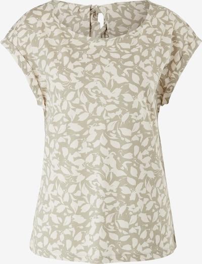 s.Oliver Shirt in de kleur Groen / Wit, Productweergave