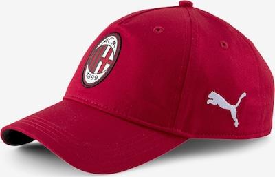 PUMA Cap 'AC Milan' in rot / weiß, Produktansicht