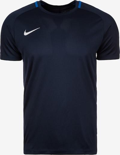 NIKE T-Shirt in dunkelblau / weiß, Produktansicht