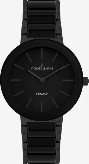Jacques Lemans Uhr in schwarz, Produktansicht