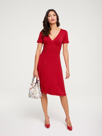 heine Kleid 'Timeless' in rot, Modelansicht